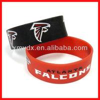 Factory price cheap jordan sports team silicone wristband