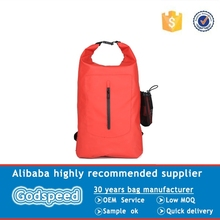 PVC tarpaulin swimming dry bag backpack, custom logo waterproof ocean pack dry bags