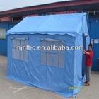 lona de algodão puro tenda parede para fora