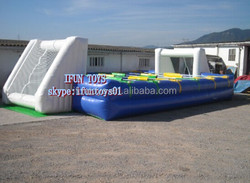 inflatable kids foosball table /soccer table party inflatable /inflatable human foosball rental