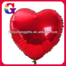 2013 Heart Shaped Metallic Balloon