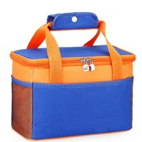 Disposable flexible 6 can Insulated Cooler Bag