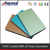 Alusign pvdf ACM composite sheet aluminum composite panel roof