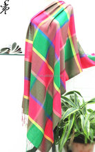 2015 hot sell fashionable indian silk scarf for ladies