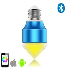 product china online rgb led bulbs 5w cheap with 16 mixed color changing play by SmartPhone