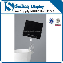 Pop Display Plastic Double Clip with L Size for Shops, Display clip