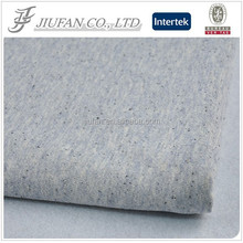 Jiufan Textile Knitted Fabric with Black Speckle French Terry Fabric Polyester Cotton Composition Fabric