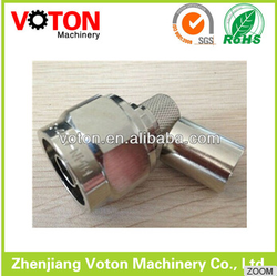 Best price N Male straight crimp for RG213 cable male crimp brass connector