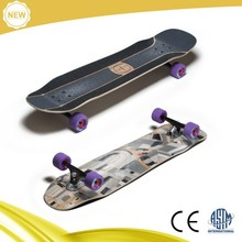 2015 new arrival ASTM approved longboard complete,canadian maple longboard with high quality truck