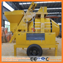 Diesel concrete mixer JZR350 and JZR500 manufacturer from Daswell Machinery in China