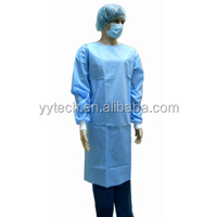 disposable surgical gown in SMS material