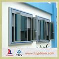 Alto padrão de qualidade janela de batente tamanhos com preço barato