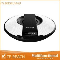 2015 new product lcd screen, fm radio, alarm clock bluetooth speaker SDY021