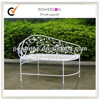 Wholesale Garden Furniture Vintage Iron Outdoor Daybed View Daybed Powerlon Product Details