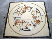 Beautiful Pattern Marble Lowes Floor Tiles for Lobby