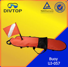 fish torpedo diving gear device marker safety buoy