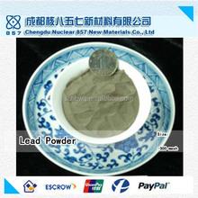 Haute pureté pb poudre / 100% usine de fabrication / échantillon gratuit