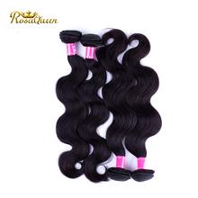 Hair Factory 100% Virgin Human Natural Black Color Aliexpress Hair Cambodian Body Wave Human Hair