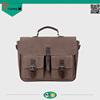 British style newest design men vintage leisure business briefcase bag top quality large capacity