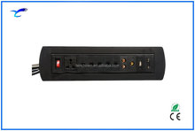 CAT.6/CAT.3/RCA/USB/VGA with Universal Power Extension Socket