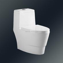 Easy to clean Nano-glaze Siphonic One Piece Toilet dark brown toilet