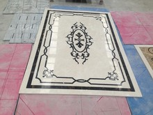 various well designed water jet pattern marble, marble floor design pictures of marble medallion
