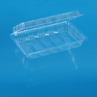 clear plastic packaging box for cakes