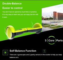 200W 4.5 Inch General Model 2 wheel Mini Smart Self-Balanced electric scooters in stock