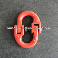 G80 european type connecting link red painted