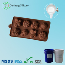 food grade platinum Addition cure silicone rubber for cake and chocolate mold making