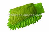 Microfiber Chenille car wash mitt/wash mitt/ car cleaning glvoe FM1005