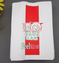 wholesale Satchet style customized chicken fast food paper bag, flour, takeaway food, sugar,salt, snack