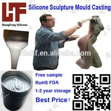 líquido de silicona del molde para los hallazgos arqueológicos de silicio