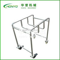 2015 HY-Z-10 mobile stainless steel flat trolley cart