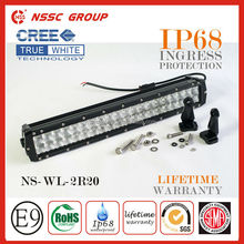 NSSC Factory Supply New design Double Row 4x4 Led drive Light bar IP68 , High quality offroad led light bar for all ATV, Truck