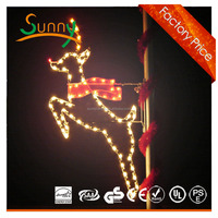 outdoor pole light Outdoor LED street light, LED road light lamp Hanging White Led 3d Arcylic Moon Housing Decor Light