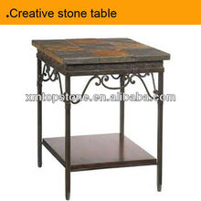 Antique small stone table
