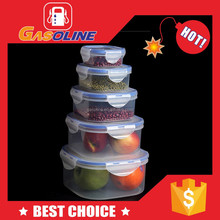 PP small snapware airtight food storage plastic container