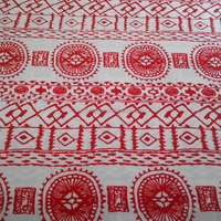 2015 new design ITY printed knit fabric for lady's dress
