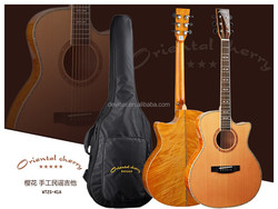 41 inch Cutway Acoustic Guitar handsel bag as gift,,we make all kinds of Guitars,Ukulele,Violin,Guitar Accessorie