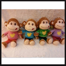 plush soft toy monkey small size in stock