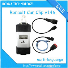 [High Quality] 2015 Newest Renault Can Clip V146 with diagnostic interface renault diagnostic tool with high quality