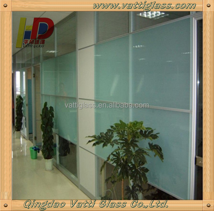 4mm 5mm 6mm 8mm 10mm sandblasted frosted glass panels bathroom window