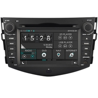 In-dash 7 inch capacitive touch screen Car dvd for TOYOTA RAV4 with GPS NAVI BT TV USB SD 3G Wifi steering wheel control