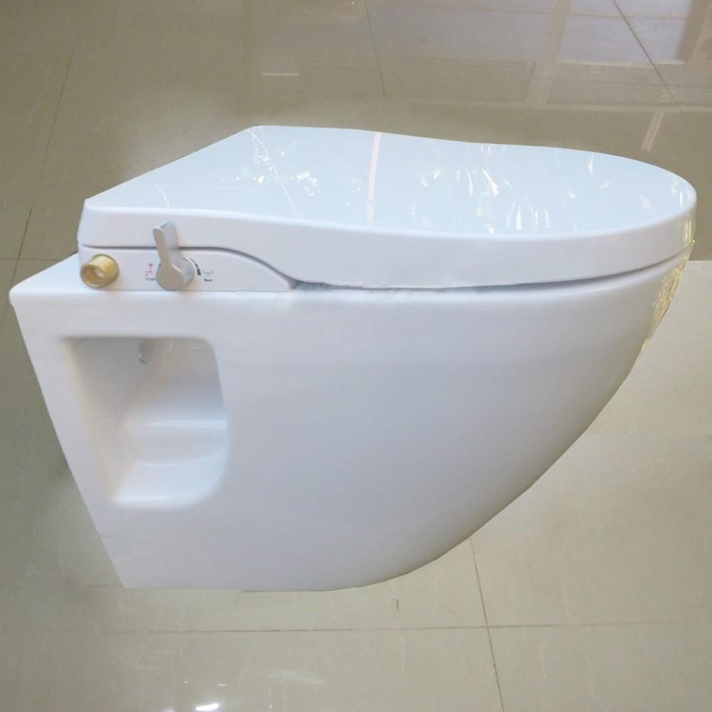 Muro sanitari sospesi wc bidet, muro in ceramica montato bagno wc ...