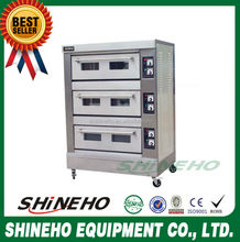 High Temperature French Bread Gas Pizza Oven Factory manufacture