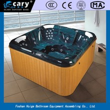 WLS-8002 portable wooden spa bathtub