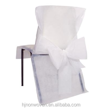 universal white banquet chair cover in 20'' x 38''