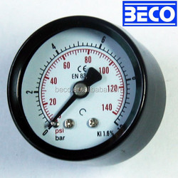 Y-40D Burdon tube/ painted steel case / general pressure gauge