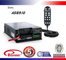 12v 400w car alarm siren with 3 light control, dual sound track, five years warranty